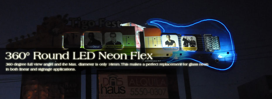 360 Degree Round LED Neon Flex