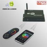 Dreamcolor LED WIFI controller, IOS, Android system,RF(KNL-LC-A010-WIFI)
